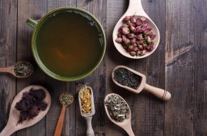 selection of teas for health